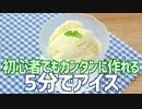 初心者でもカンタンに5分で作れる アイスクリーム