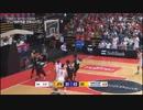 バスケットボールW杯アジア2次予選 日本 対 イラン