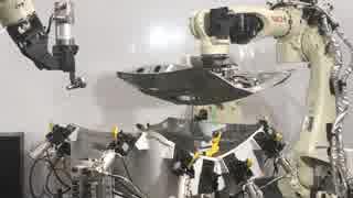 自動車の組み立てロボット 島津直人がロ
