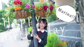 【まりな】Birthday Song for ミク 踊っ