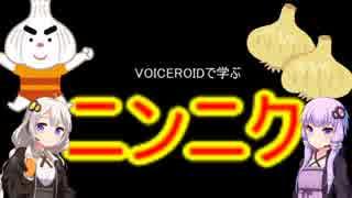 VOICEROIDで学ぶ「にんにく」