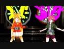 【MMD杯ZERO EX】 けもフレ漫画主役組でジオウ&ゲイツ同時変身第3話ver ゲイツの変身モーション欲しければ配布します