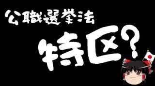 【ゆっくり保守】公選法特区沖縄、ここで