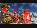 【PSO2】バスタークエスト 魔神城(バスターバレス)戦;不尽の狂気メドレー【戦...