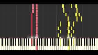 【東方ピアノ】亡き王女の為のセプテット