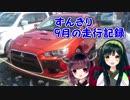 きりたんずん子 走りの旅倶楽部2 第1回目「9月の走行記録」