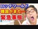 【衝撃】韓国のロッテワールドで恐怖の緊急事態!日本と世界が驚愕!韓国旅行は中止だな!海外の反応【KAZUMA Channel】