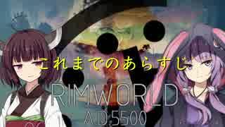 【RimWorld】A.D.5500 あらすじ