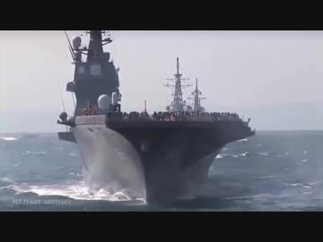海上自衛隊最大の護衛艦「かが」がASEAN国防相会議中のシンガポールに寄港
