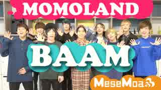 男9人でMOMOLAND - BAAM Covered by only