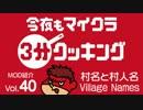 今夜もマインクラフト:MOD紹介Vol.40「村名と村人名 Village Names」