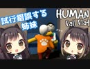 #3【Human: Fall Flat】東城姉妹の大冒険【パズルゲーム実況】