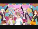 【MMD】【ささら・ONE・愛里・IA】「HUGっと!YELL FOR YOU」【CeVIOカバー曲】
