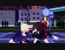 【東方MMD】パンダヒーロー【霊夢&アリス】【ぱんつ注意】【1080p】【MMD】