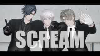 【MMD刀剣乱舞】SCREAM+α【鶴・燭・長】