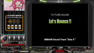 【beatmania IIDX】 Let's Bounce !! (SPA) 【CANNON BALLERS】 ※手元付き