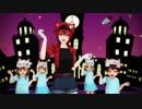 仮装した赤血球ちゃん達が『Happy Halloween』【MMDはたらく細胞】