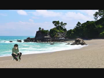 無人島に放り込まれたダークエルフVtuber