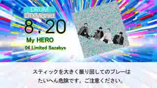 【DTX】My HERO / 04 Limited Sazabys