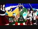 【MMD艦これ】8AM はじめの一歩×はじめの一矢【アニメOP風MAD】
