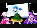 【MMD花騎士】コデマリ・ラベンダー・シャクヤクに「WAVE」を踊っていただきました...