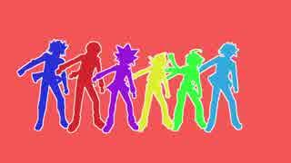 【遊戯王MMD】主人公たちでダンスロボット