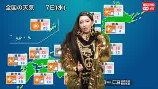 MOSCHINO TV H&M 11月7日の天気 (2018