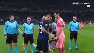 《18-19UEFA CL》 [GS第4節・B組] インテル vs バルセロナ
