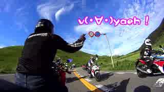 VFR800 & ドローン映像 ライダーの聖地【
