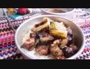 ウサチョフキャンプ2018「焼き栗ときりたんぽ鍋」
