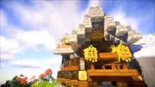 【Minecraft建築】のんびりな街づくり【#1-1】