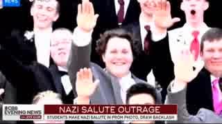 米高校でのナチ式敬礼が物議に 英ではヒト