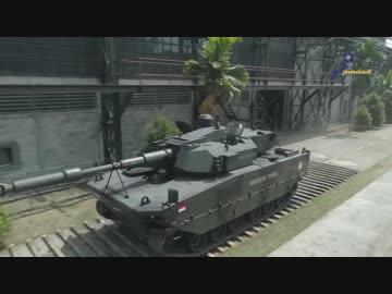 インドネシアの新型中戦車「ハリマウ」PV