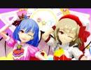 【東方MMD】アイドルコスのスカーレット姉妹が踊る「愛言葉Ⅲ」1080p対応