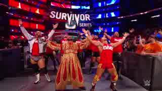 【WWE】男子タッグ5対5エリミネーション戦