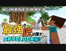 【日刊Minecraft】最強の匠は誰かスカイブロック編!絶望的センス4人衆がカオス実況!♯3【Skyblock3】