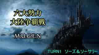 【MUGEN】六大勢力大陸争覇戦【陣取り】Pa