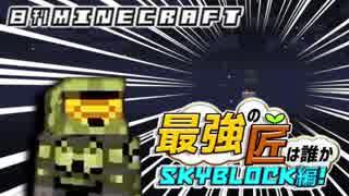 【日刊Minecraft】最強の匠は誰かスカイブロック編!絶望的センス4人衆がカオス実況!♯4【Skyblock3】