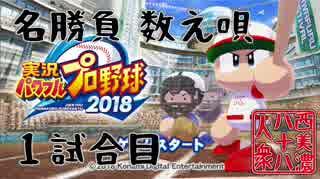 【パワプロ2018】◆西美濃 名勝負数え唄◆1試合目