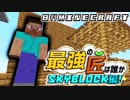 【日刊Minecraft】最強の匠は誰かスカイブロック編!絶望的センス4人衆がカオス実況!♯5【Skyblock3】