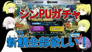 【FGO】シンPUガチャ 新鯖全部欲しい!【