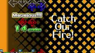 [DDR A]Catch On Fire! EXPERT 譜面確認用