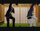 【MMD】刀剣乱舞 Wまんばのフライングゲット