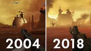 ホモと見るクローンの攻撃:グラフィック進化の歴史2004-2018.obiwankenobi