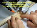 糸鋸刃ブレ防止補助具