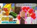 【日刊Minecraft】最強の匠は誰かスカイブロック編!絶望的セ...