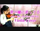 Can't Take My Eyes Off You(君の瞳に恋してる)【バイオリン 】【Violinist YURI...
