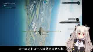 【のらきゃっと】旅客機が戦闘機動【ジャ