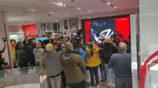【スマブラSP海外の反応】「ペルソナ5 ジョーカー参戦」ニンテンドーNYショップの反応「大乱闘スマッシュブラザーズ SPECIAL」