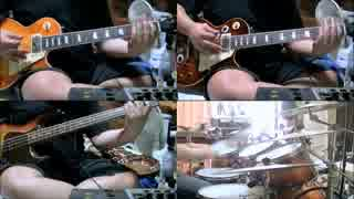 【Cover】AerosmithのFalling in Love (Is Hard on the Knees)を1人でやってみた【creambadge】